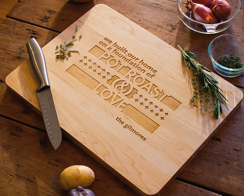 cute & little blog | hmk dallas | unique personalized mothers day gift ideas | customized wood cutting board