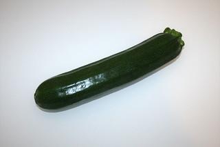 09 - Zutat Zucchini / Ingredient zucchini