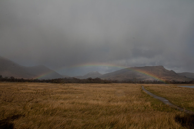 Rainbow at Lochawe