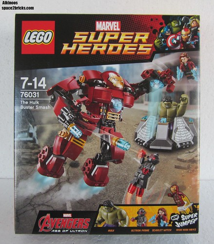 Lego 76031 The Hulk Buster Smash p1