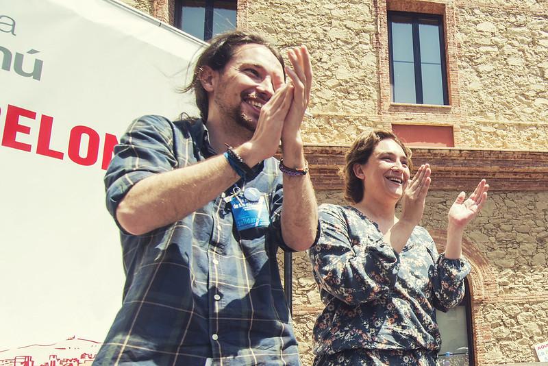 ?#?PrimaveraDemocratica? amb Pablo Iglesias i Ada Colau