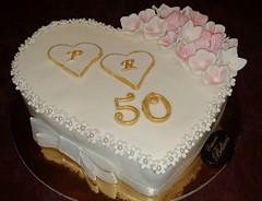 Torta 50 Anni Di Matrimonio Pasticceria Bellucci Firenze Flickr