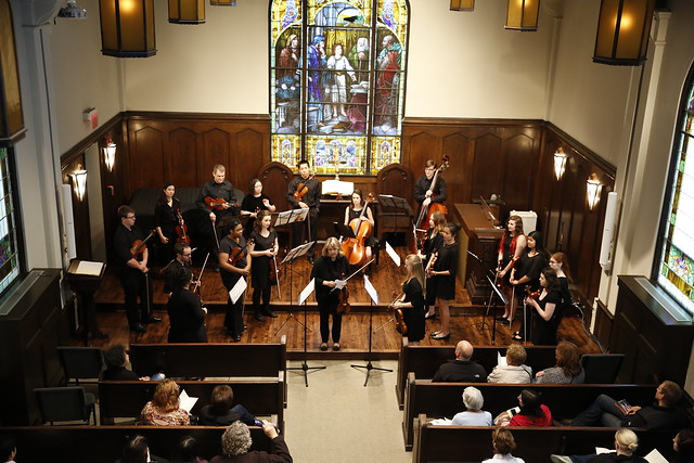 """Chamber Strings """"5 Pieces at 5 Locations"""" 5-13-2015"""