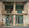 Abandoned storefront in Lagkadia, Greece