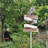 Confused. _________________________________ #tbilisi #OldTbilisi #Georgia #instageorgia #InstaTbilisi #streetphotography #mobilephotography #oldwoman #signs #directioner #confused #тбилиси #грузия #თბილისი #საქართველო