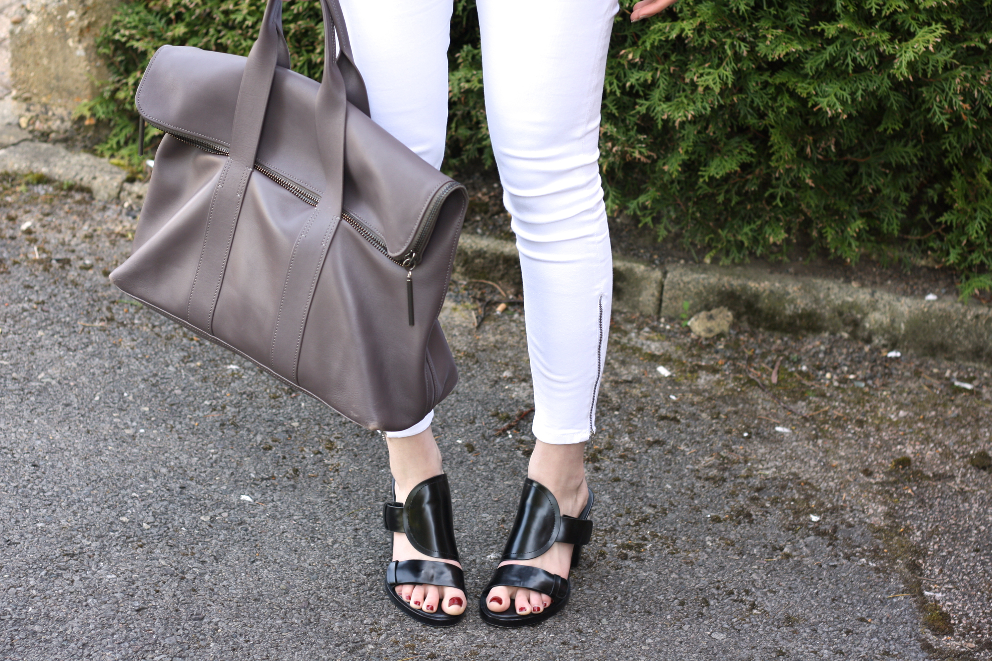 & Other Stories black heeled sandals