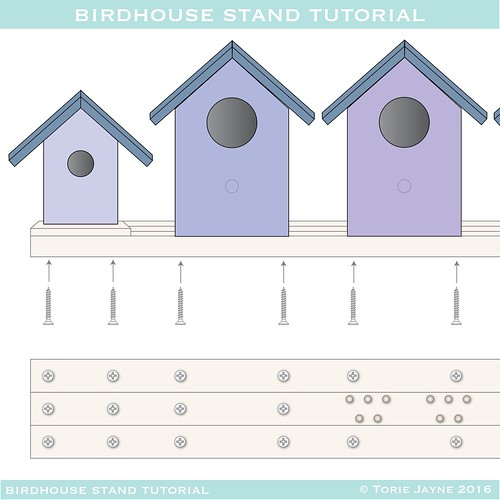 birdhouse stand plans - 1-01