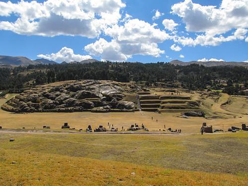 Sacsayhuaman: ces rochers sont en fait de la lave