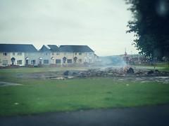 We arrived in Belfast days after Bonfire Night #🔥 #Belfast #travel #igtravel #northernireland #bonfirenight #thetwelfth