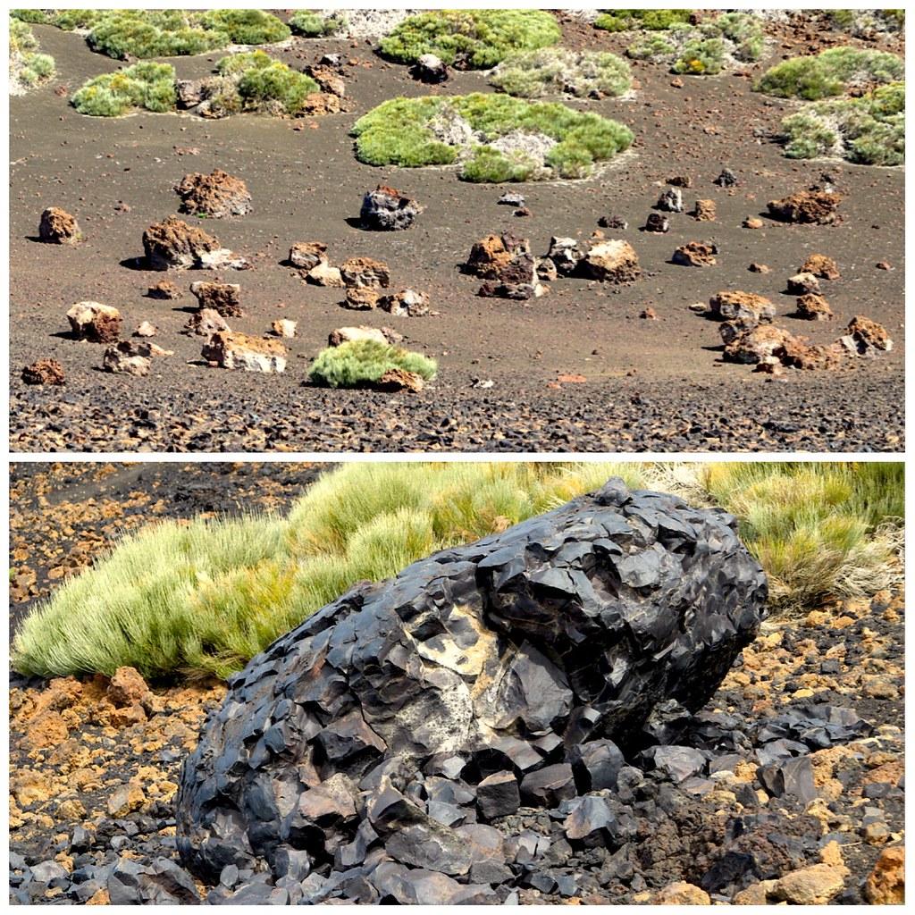 Bombas volcanicas y acrecion