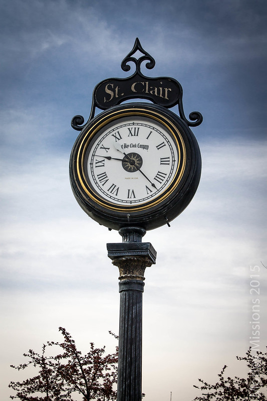 st clair clock