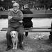 Men with Dog by Reiner Girsch