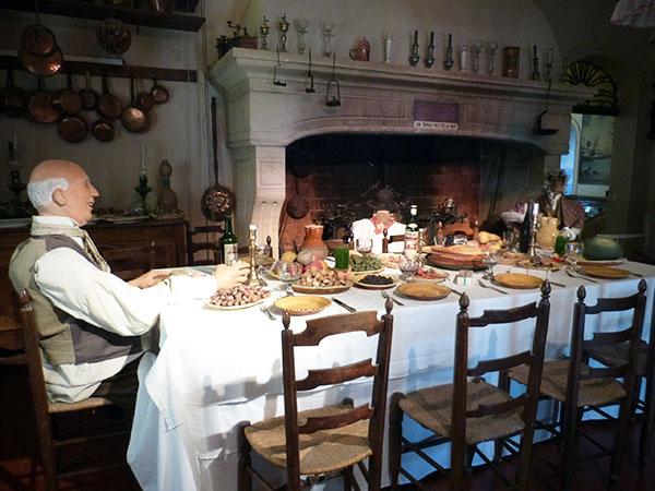la table du gros souper