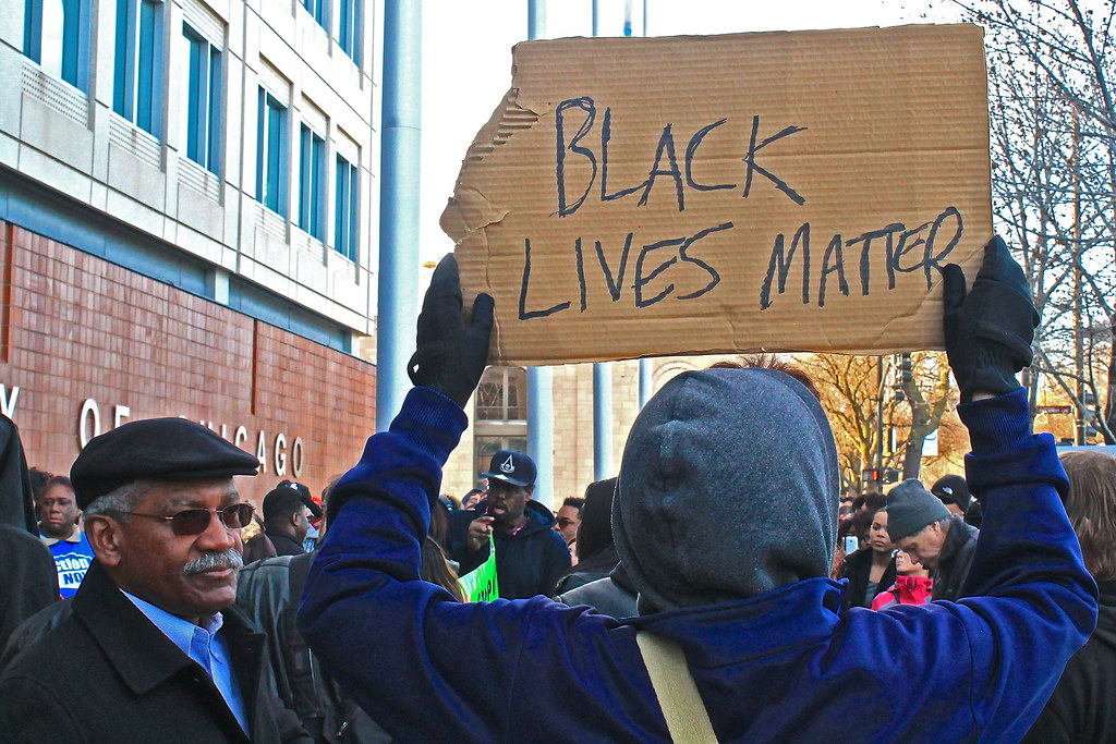 Chicago rallies and marches in solidarity with the Baltimore Uprising