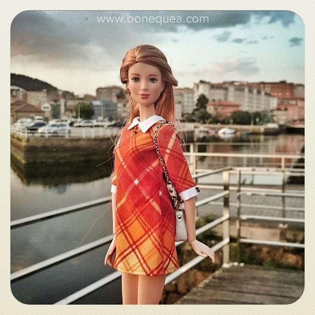 Redhead & freckled Barbie.