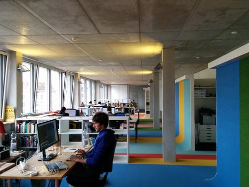 New office at Aufbauhaus