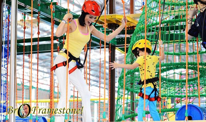 Amber Chia EnerZ Indoor Extreme Park