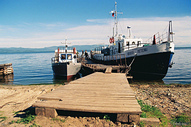 Monahovo. Chivyrkuiskiy zaliv. Baikal. Russia
