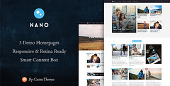 Nano - Simple Magazine WordPress Theme (Blog / Mag…