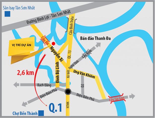 Dự án khu căn hộ SaigonRes Nguyễn Xí