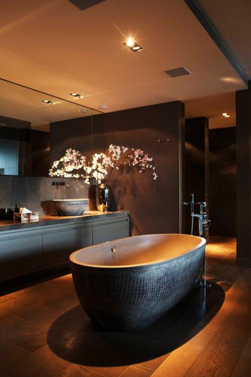 luxury bathroom interiors