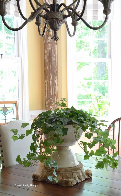 Ironstone Bowls turned planter-Housepitality Designs
