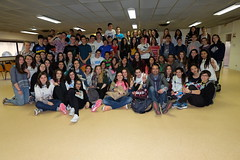 De jeunes espagnols de Logroño à Dax
