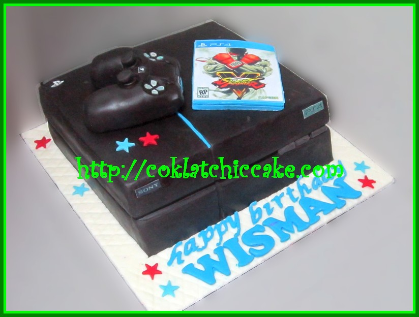 Cake Game Playstation 4 PS WISMAN