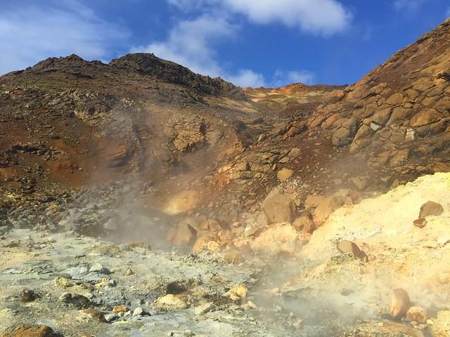Furmarolas en Islandia