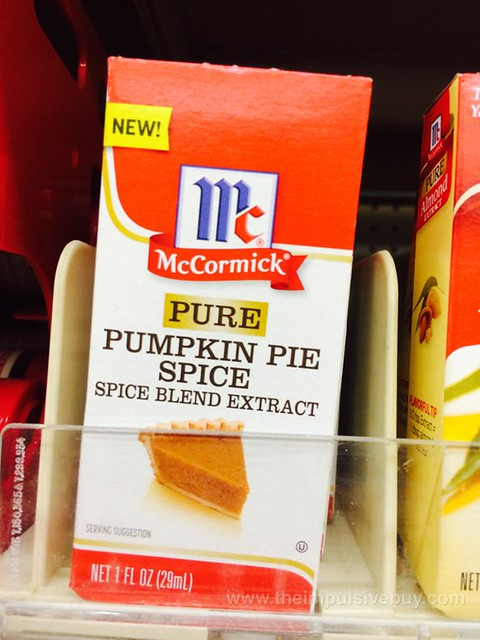 McCormick Pure Pumpkin Pie Spice Spice Blend Extract