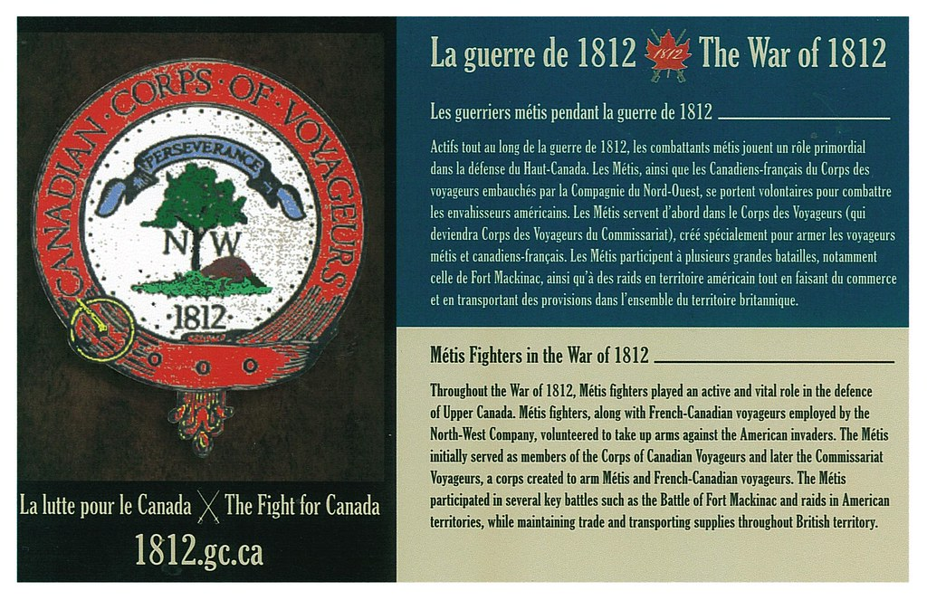 War of 1812 - Metis Fighters