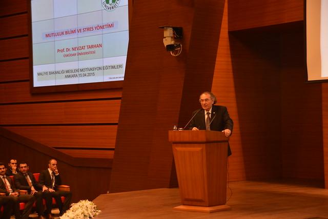 Rektörümüz Prof. Dr. Nevzat Tarhan Vergi Müfettişlerine Stres Yönetimi ve Öfke Kontrolünü anlattı