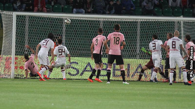 Palermo, spettacolare 2-2 col Toro$