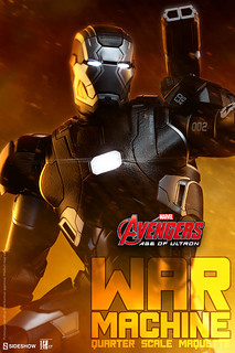Sideshow Collectibles【戰爭機器】War Machine 1/4 比例 全身雕像