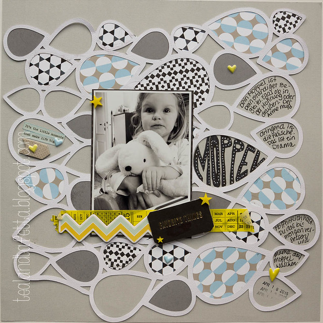 Scrapbook Layout Moppel