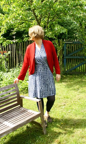 MMMay day 17 fake wrap dress an Julia Cardi