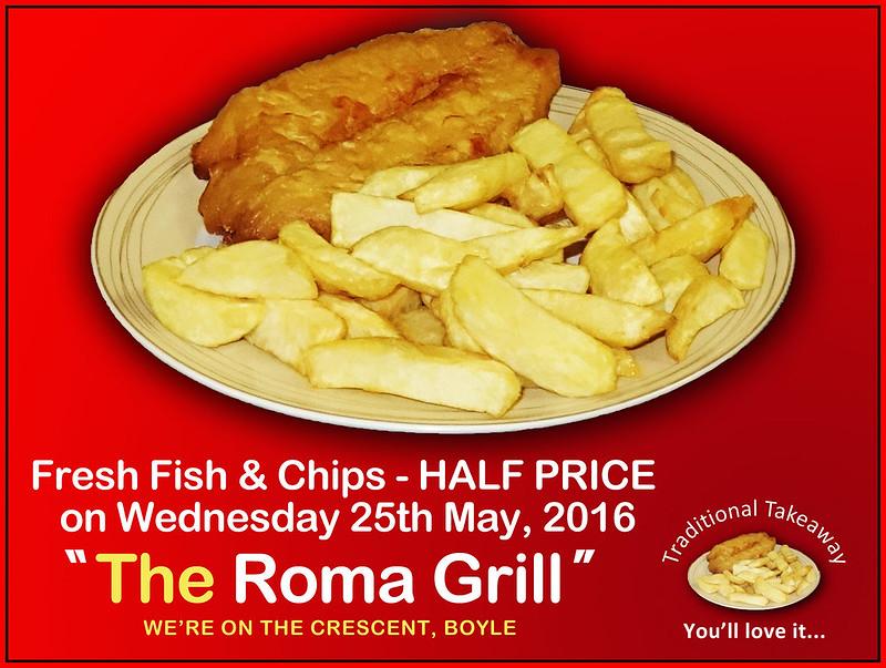 Half Price Fish & Chips