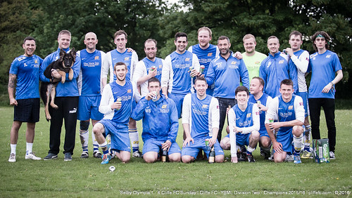 Cliffe FC Sunday 4 - 1 Selby Olympia | Cliffe FC - YSML Div 2 Champions 2015/16 18May16