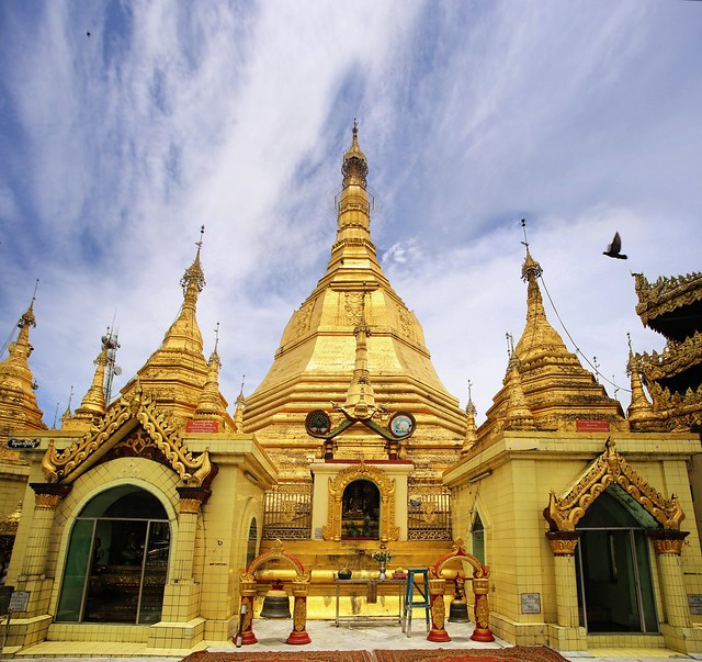 Sule Pagoda is an important Yangon landmark