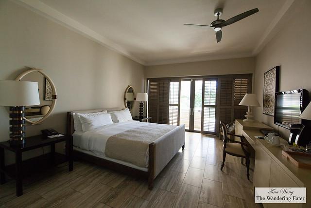 My bedroom area of the Ocean View Viceroy Studio