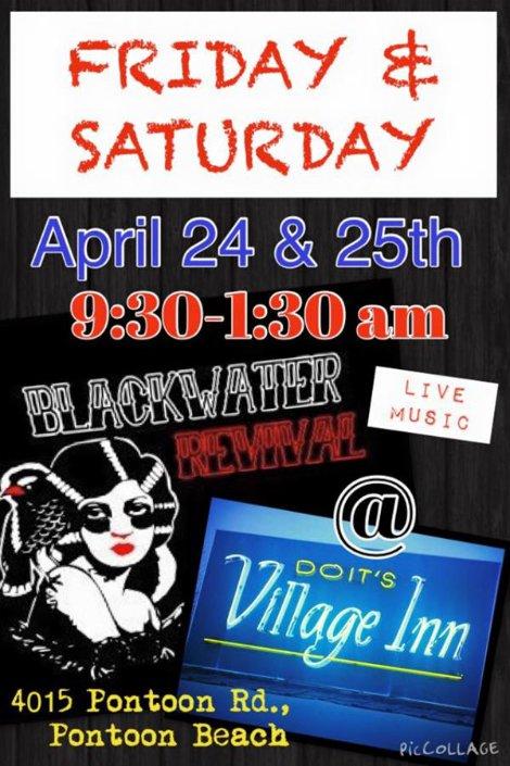 Blackwater Revival 4-24, 4-25-15