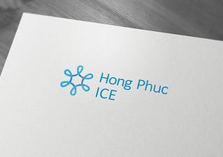 Logo Hong Phuc ICE mokcup