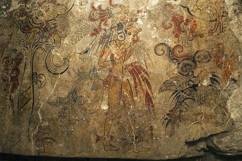 Mural paintings in San Bartolo