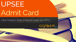 UPSEE Admit Card 2016