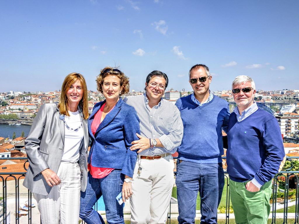Viviana, Almudena, Pablo, José Ramón y Jacinto