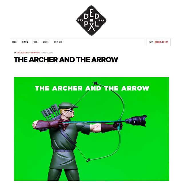 DEDPXL • THE ARCHER AND THE ARROW