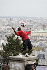 test D750 nikon Jugglery on the city in Paris France