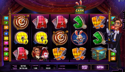 Top Hat Magic™ Slot Machine Game to Play Free in Cryptologics Online Casinos