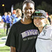 Small photo of Dami and Coach Kelsey