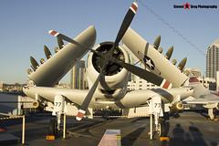 127922 NE-577 - 7937 - US Navy - Douglas AD-4W Skyraider - USS Midway Museum San Diego, California - 141223 - Steven Gray - IMG_6805